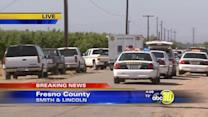 Authorities are investigating a homicide in Fresno County