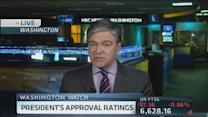 Obama's approval rating hits new low: NBC/WSJ Poll