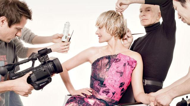 Allure Cover Shoots - Amber Valletta's Cover Shoot