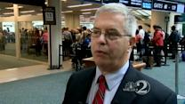 Airport preps for Thanksgiving Day travel