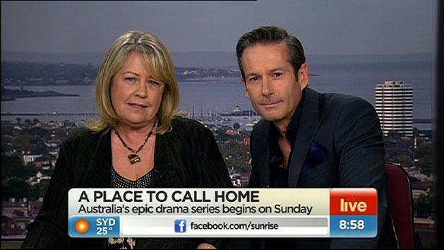 The stars of 'A Place to Call Home'