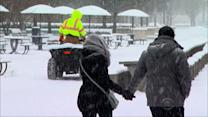 Chicago breaks 96-year-old snow record