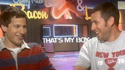 That's My Boy: Andy Samberg And Adam Sandler Can't Stop The Laughs