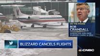 Blizzard cancels flights