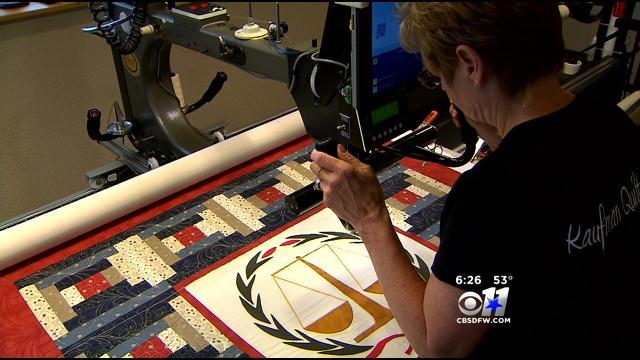 Community Honors Slain DA & Wife With Quilt