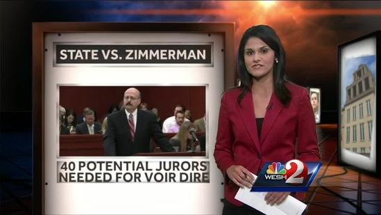 8 still needed to fill Zimmerman's potential jury pool