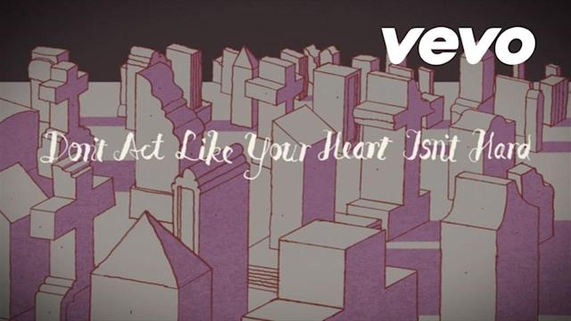 Don't Act Like Your Heart Isn't Hard feat. Juanes (Lyric Video)