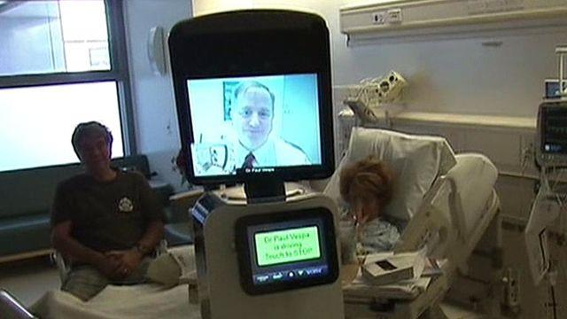'Robot doctors' making the rounds in hospitals