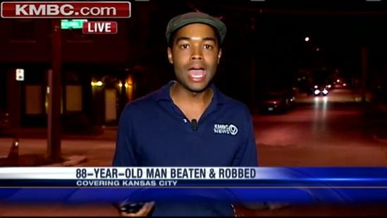 88-year-old man beaten, robbed