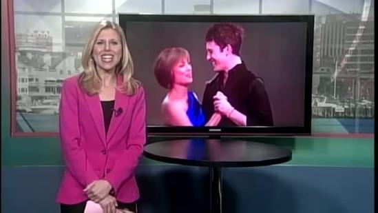 DWTS competitor, Olympian Dorothy Hamill talks with News 8's Erin Ovalle