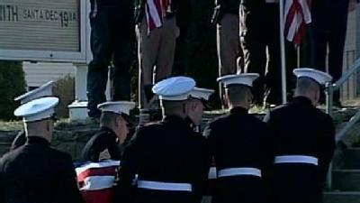Fallen Marine Laid To Rest