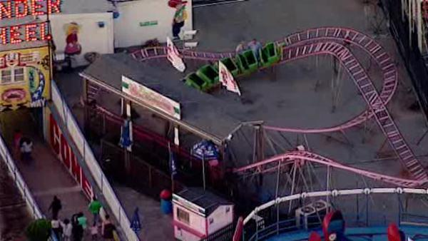 Boy injured in fall from kiddie coaster on Coney Island