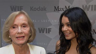 Vanessa Hudgens Stays Away From 'Touchy Subject'