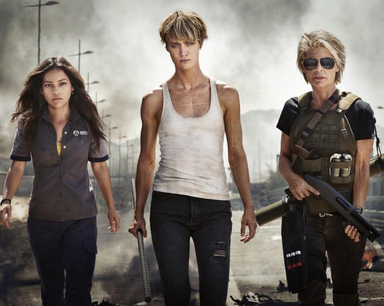 fdf89466a72b James Cameron reveals dark title for new  Terminator  movie  Video