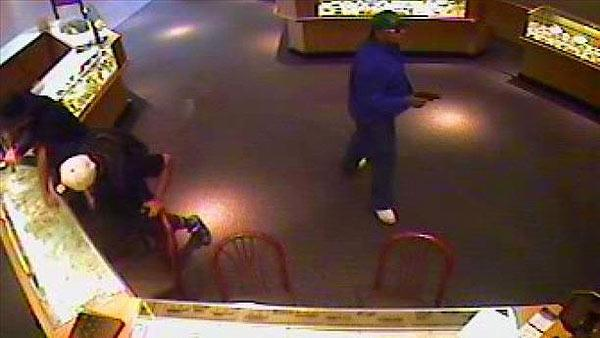 Suspects sought in smash-and-grab robbery