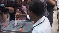 Maldives voters elect leader after protests and violence