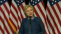Hillary Clinton Calls On FBI to Release Information in Latest Email Investigation
