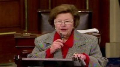 Mikulski: No Pay For Congress In Event Of Shutdown