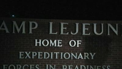 Marine Shot Dead at Camp Lejeune Entrance