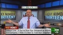 Never dump a stock you have conviction in: Cramer