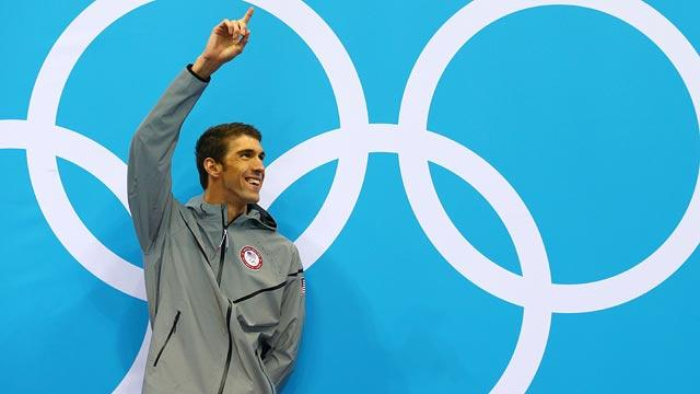 Olympic fans say goodbye to Michael Phelps