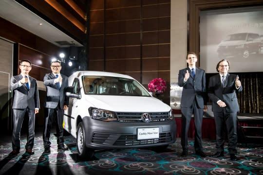 Caddy全車系200萬輛達成 創商車新局 Caddy Maxi Van將登場