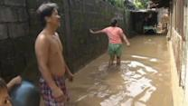 Philippines clean up after Typhoon Nari