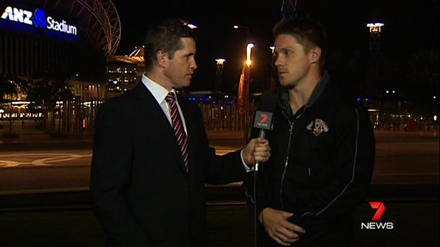 Chris Lawrence speaks to 7 News
