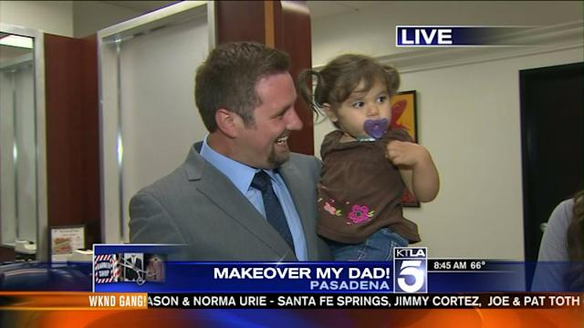 Major Daddy Makeover: Before and After