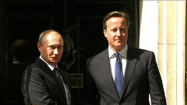 UK and Russia hold 'frosty' talks