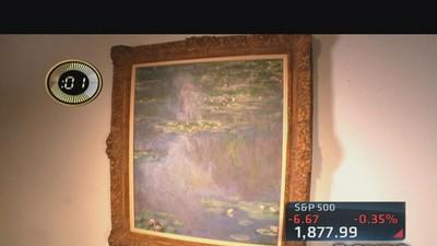 Multi-million dollar Monet up for auction
