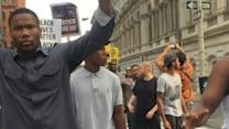 Protesters March in Baltimore Ahead of Court Hearing in Freddie Gray Case