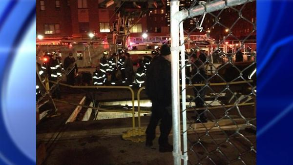 2nd Avenue Subway worker stuck in trench