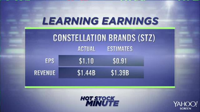 Constellation and Monsanto beat on earnings; Micron shares soar; McDonald's downgraded