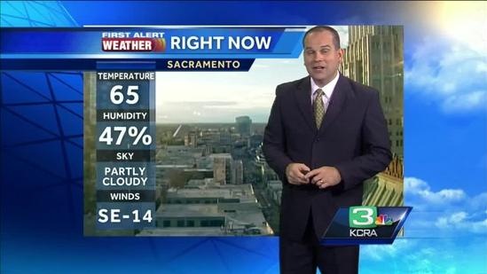 Rain showers expected to continue into Sunday