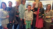 Boy Treats His Elementary Teachers to Dinner Before Moving Onto Middle School