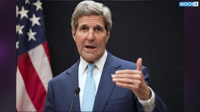 Kerry Lands In Baghdad To Press Maliki As Insurgency Spreads
