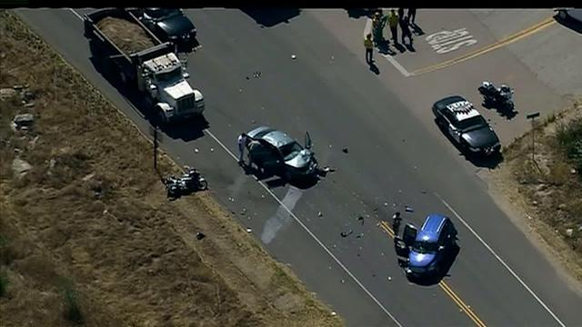 CHP: Distracted Teen Driver Causes Crash Injuring Cop
