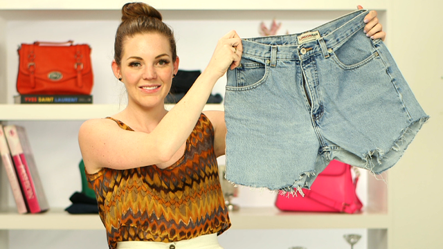 DIY: Learn to Make the Perfect Cutoff Shorts