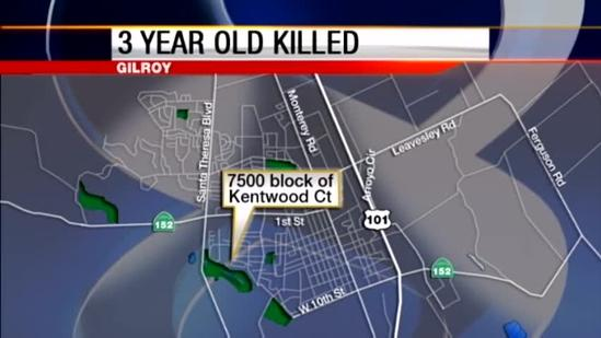 3 year old Gilroy boy shot and killed