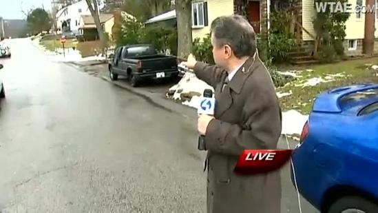Boston neighbors find car windows shot out
