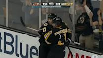 Bruins tally twice in 31 seconds on Emery
