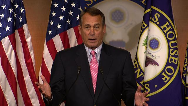 Boehner: Capitol will remain open to visitors