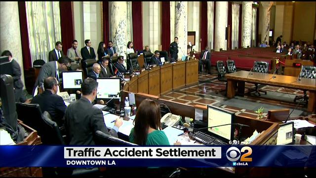 City Council OKs $185,000 Settlement In Huizar Crash