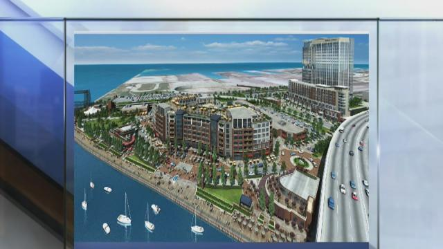 Noon: Flats East Bank redevelopment
