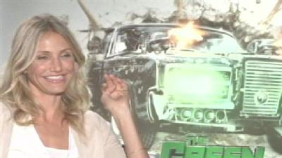 Gino Sits Down With 'Green Hornet' Co-Star Cameron Diaz
