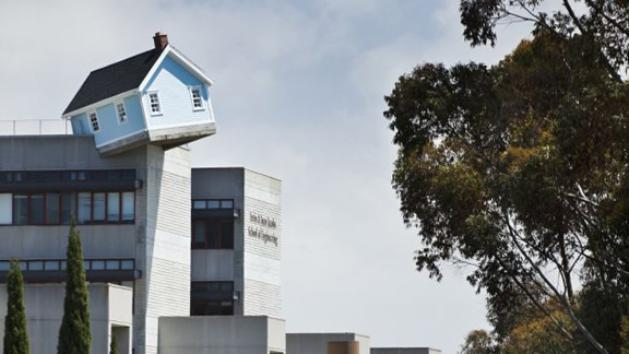 Did Dorothy's House Drop On UCSD?