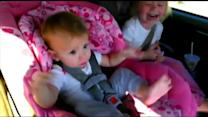 Baby Wakes Up to Dance 'Gangnam Style' in Car