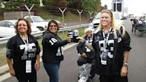 Raiders fans gear up for big game against Denver