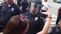 Police Make Arrest at Baltimore Protest